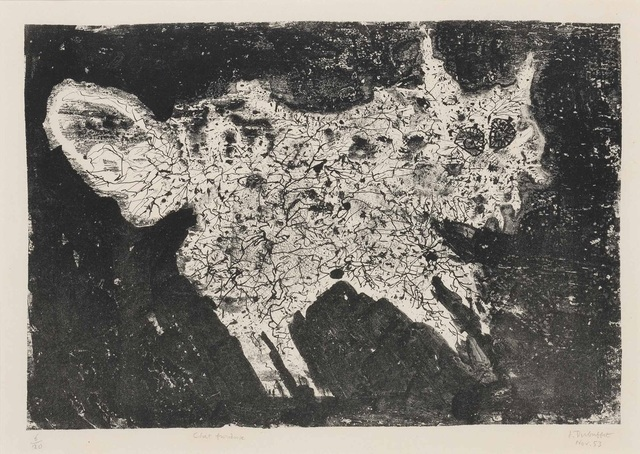 Jean Dubuffet, 'Chat Furieux', 1953, Galerie F. Hessler
