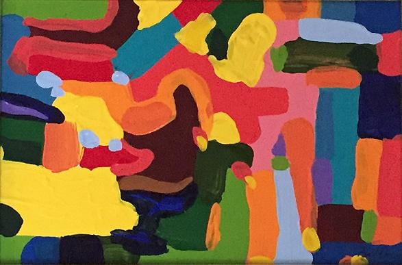 , 'Abstract I,' , Fils Fine Arts
