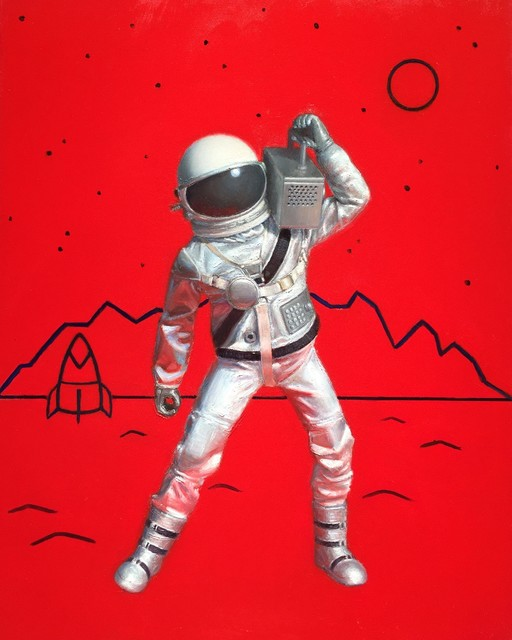, 'Astronaut,' 2017, Cavalier Galleries