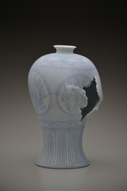 , 'Maebyeong Vase with Peonies,' 2014, Duane Reed Gallery