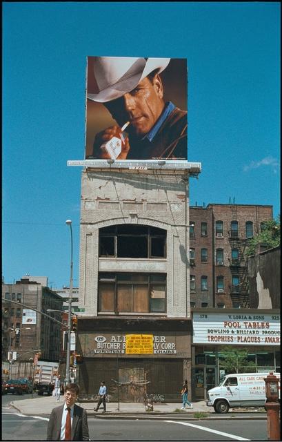 Clayton Patterson, 'Untitled (Bowery Marlboro man in 1997)', 2007, Tillou Fine Art