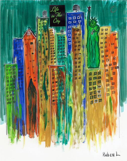 , 'Life in the City,' , ArtLifting