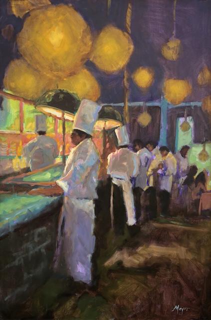 , 'The Line Up,' 2018, Meyer Vogl Gallery