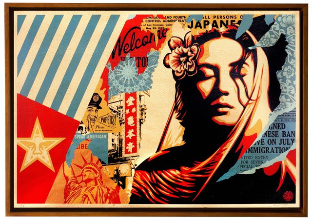 Shepard Fairey, 'Welcome Visitor', 2017, Subliminal Projects