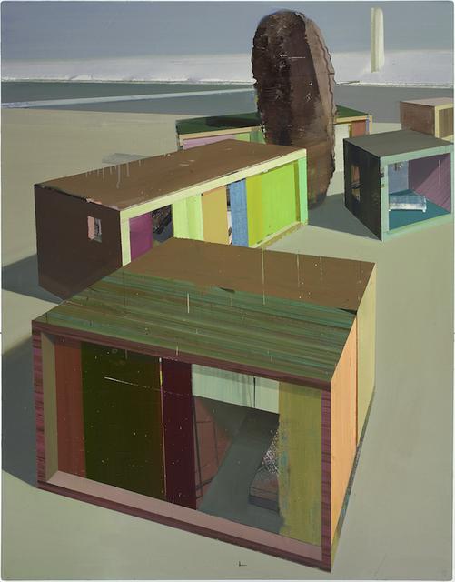 , 'Privatstrand,' 2007, G2 Kunsthalle