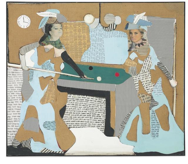 Conrad Marca-Relli, 'The Pool Game', 1981, Vallarino Fine Art