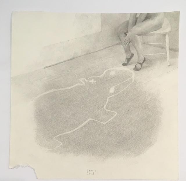, 'pin down,' 2018, Galerie Michaela Stock