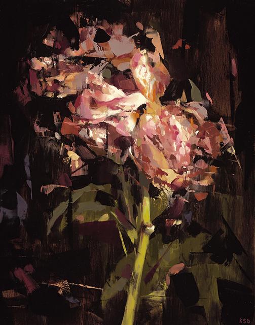 Kai Samuels-Davis, 'The Light II', 2016, Painting, Oil on panel, Dolby Chadwick Gallery