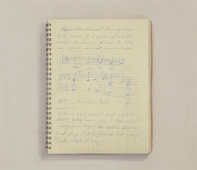 , 'Picasso Notebook,' 2013, Tibor de Nagy