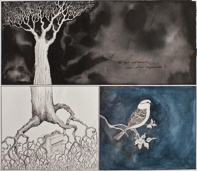 , 'Subitamente (série o pequeno livro dos terrores noturnos),' 2014, dconcept escritório de arte