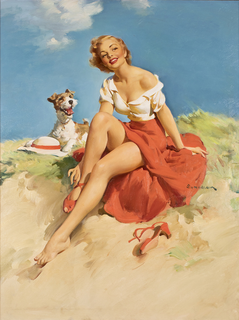 , 'Untitled (Girl with Dog),' , Louis K. Meisel Gallery