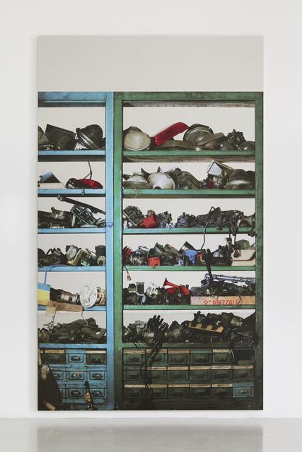 , 'Scaffali – attrezzature elettriche,' 2015, Luhring Augustine