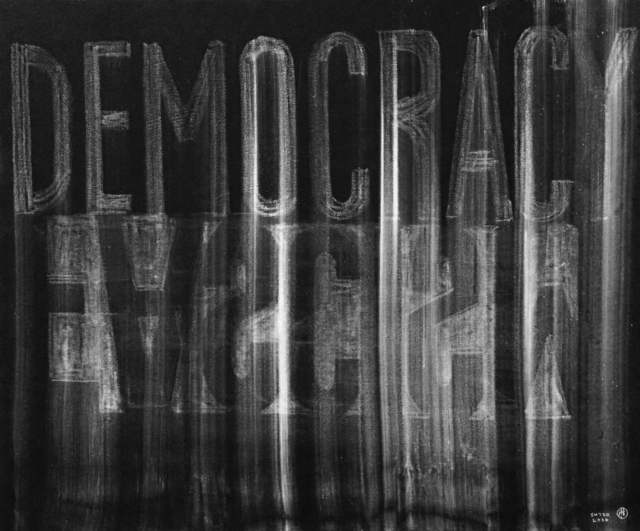 , 'Democracy 1,' 2016, 10 Chancery Lane Gallery