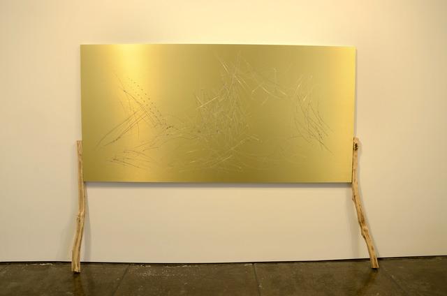 , 'Golden No.7,' 2013, Klein Sun Gallery