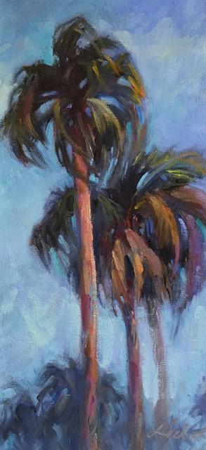 , 'Three Palms,' 2019, 530 Burns Gallery