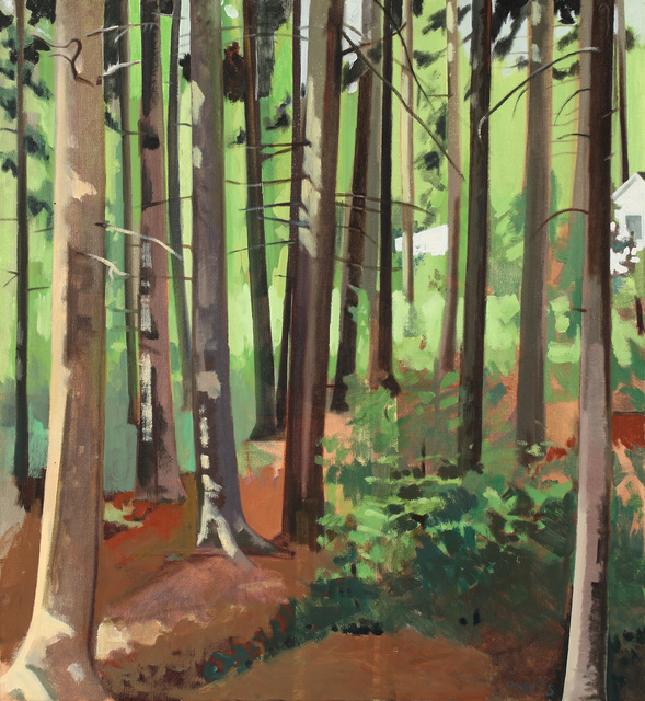 , 'Maine Woods, Small,' 1974, Alexandre Gallery