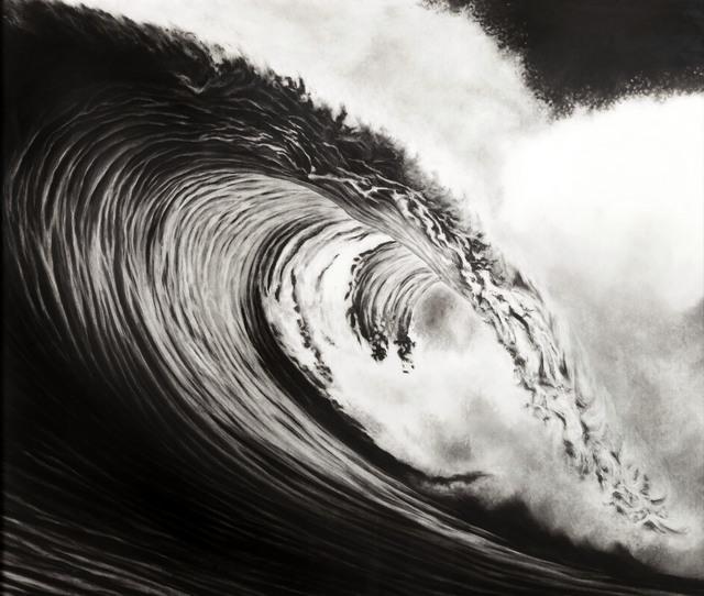 , 'Untitled (typhoon, Philippines 4/15/99),' 2000, Antoine Helwaser Gallery