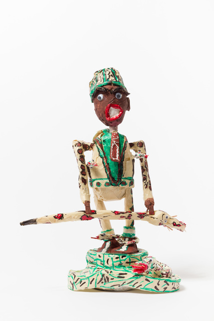 , 'Untitled (WH275 figure green hat holding snake),' , The Good Luck Gallery