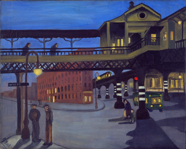 , 'NINTH AVENUE EL,' 1935, Cheim & Read