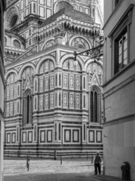 Duomo from Via della Studio, Florence