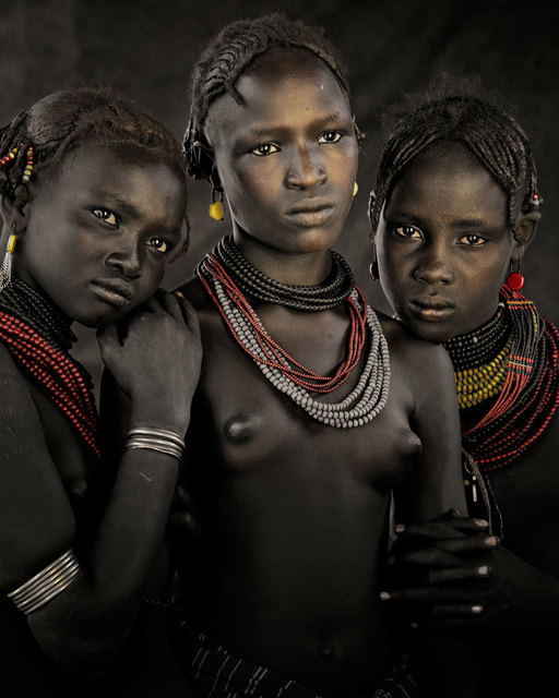 , 'XIV 396 Bodita, Arboshash & Nirjuda, Dassanech Tribe Omorate Village, Southern Omo Ethiopia - Dassanech, Ethiopia,' 2011, Willas Contemporary