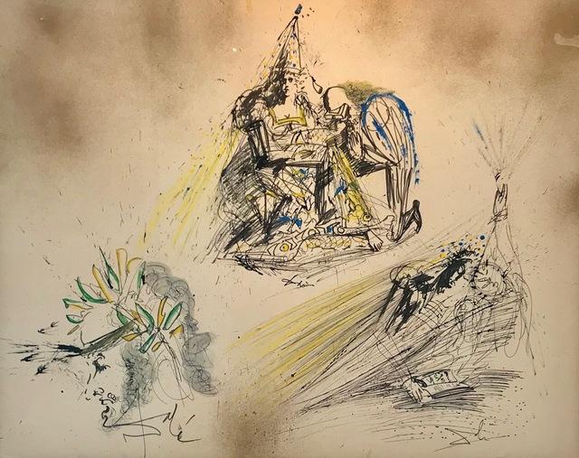 Salvador Dalí, 'Reine, Poet, Lecture', Winn Slavin Fine Art