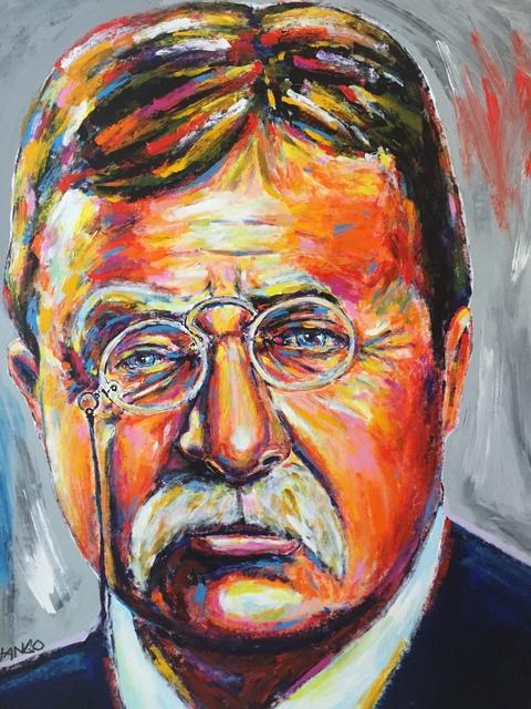 , 'Presidentail Portrait: Teddy Roosevelt ,' 2016, Artist's Proof