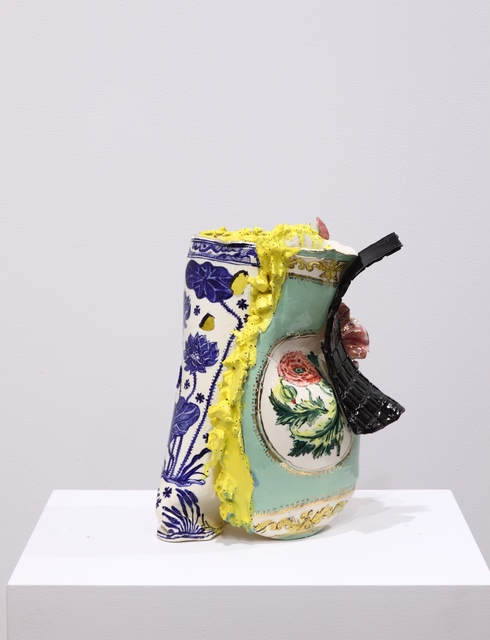 Francesca DiMattio, 'Jar with Lotuses and Eelgrass', 2013, Pippy Houldsworth Gallery