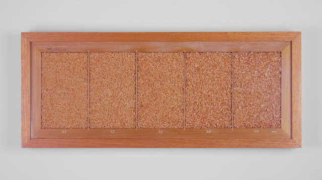 , 'Granulometria Cedro Rosa (Granulomentry Pink Cedar),' 2018, Baró Galeria