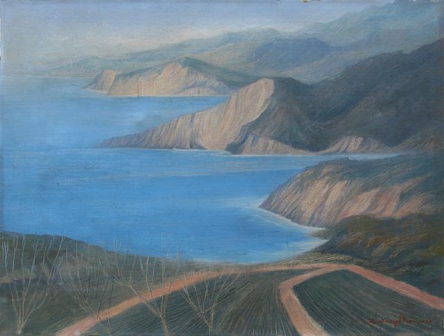 , 'Sin título (Paisaje en azules),' s/f, Galeria Oscar Roman