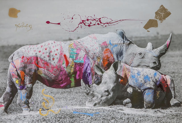 , 'Rhino Love,' 2019, Space Gallery St Barth