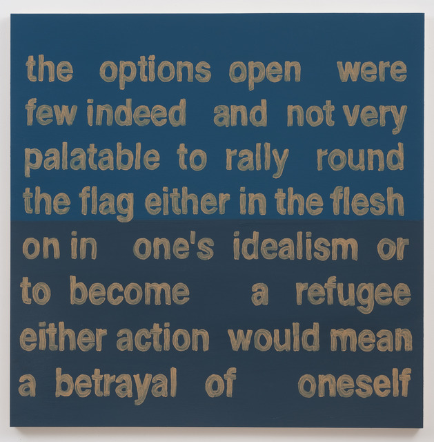 , 'The Options Open Were,' 2013, Roberts Projects