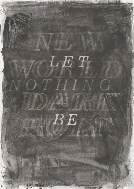 , 'Let Be,' 2019, Barnard