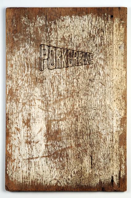 Wayne White, 'Porkgrease', 2008, Mireille Mosler Ltd.
