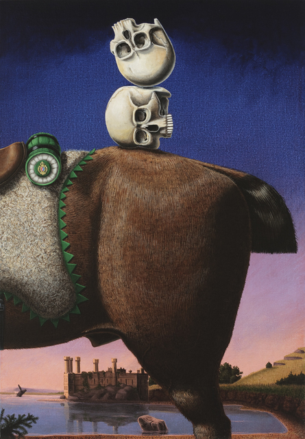 , 'A Parlor Trick,' 2010, Jon Lutz