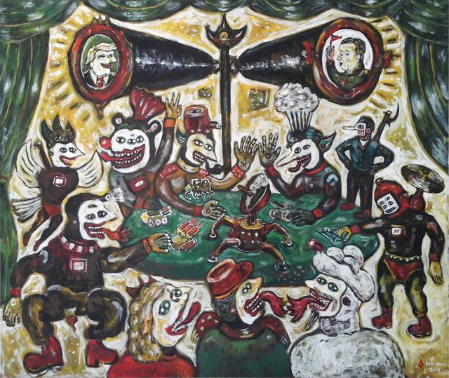 , 'The War Traders,' 2018, Mizuma Art Gallery