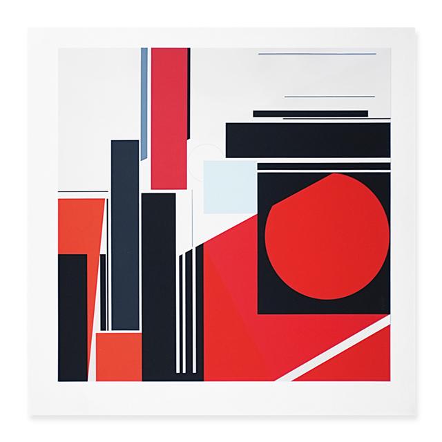 , 'Komposition im Quadrat,' 1971, Walter Storms Galerie