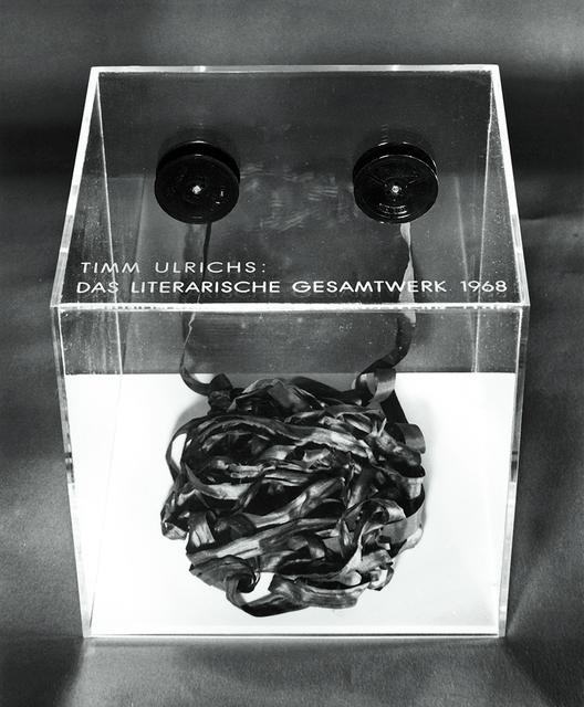 """, '""""Das literarische Gesamtwerk 2002 (Band 34)"""",' 2000, Wentrup"""
