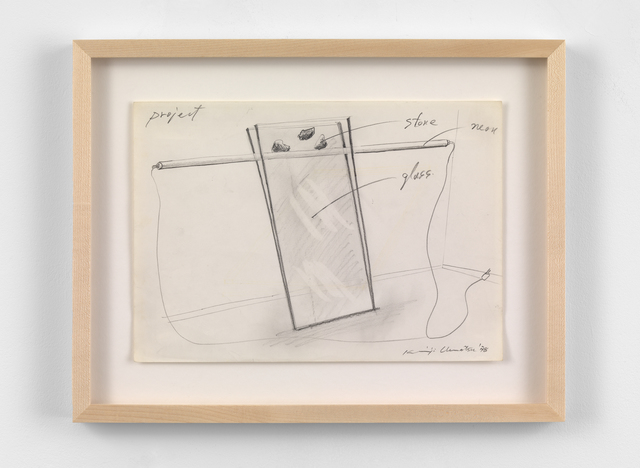 , 'Project drawing,' 1978, Simon Lee Gallery