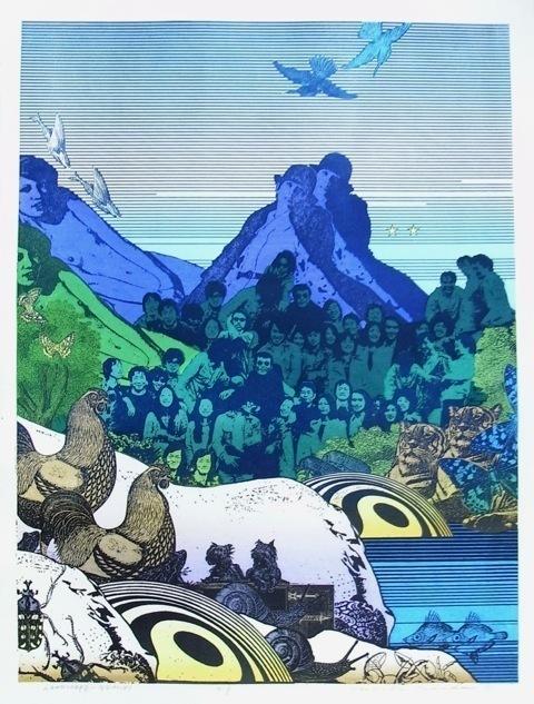 , 'Landscape - Gemini,' , The Tolman Collection