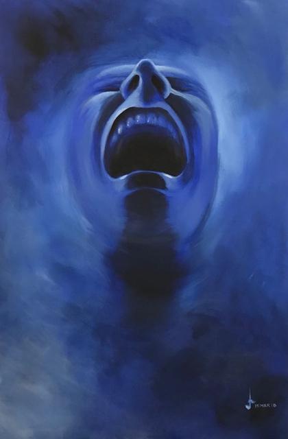 , 'Smoke Screen - Deep Blue,' 2018, Addicted Art Gallery