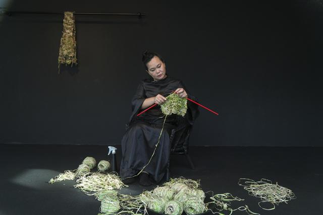 , 'Knitting the Future,' 2015, Singapore Art Museum (SAM)
