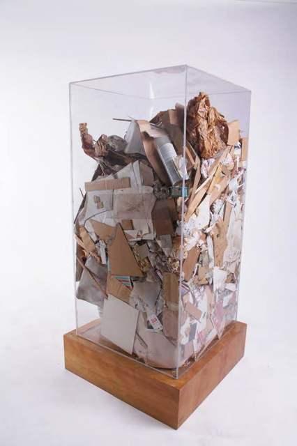 , 'Christo's Refuse,' 1973, Leila Heller Gallery