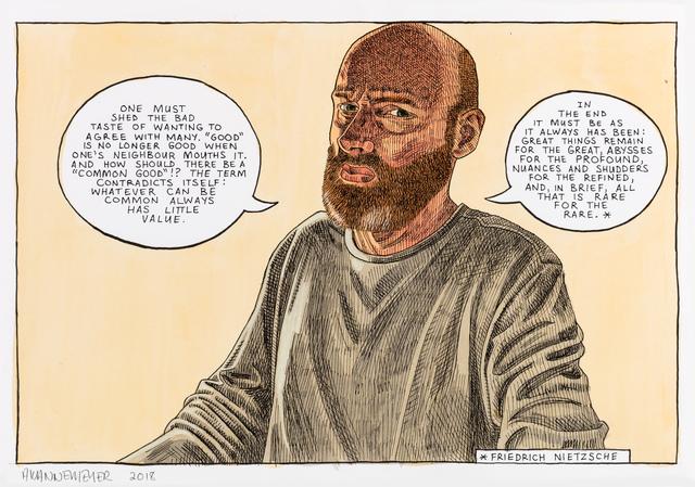 , 'Self-portrait: Bad taste,' 2018, Stevenson