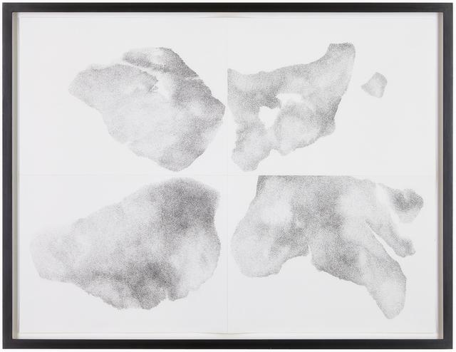 , 'Untersuchung zu vier Formen, Nr. 4,' 2014, Aanant & Zoo