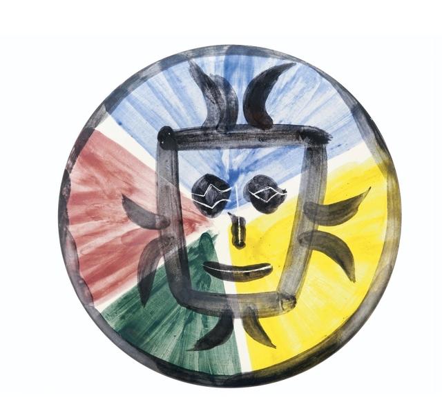 Pablo Picasso, 'Visage no.125', 1963, BAILLY GALLERY