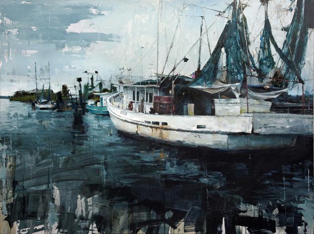 Aron Belka, 'Port of Delcambre', 2015, LeMieux Galleries