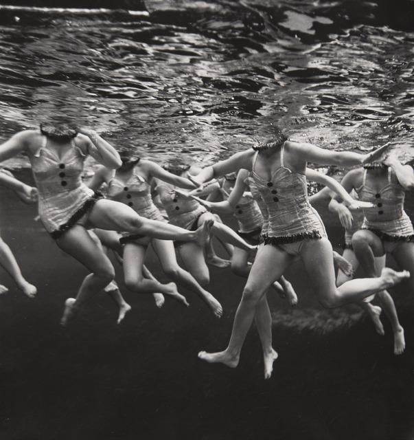 , 'Aquacade,' 1953, Jeu de Paume