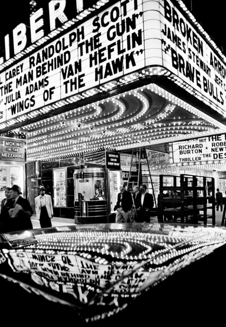 , 'Wings of the Hawk, 42nd Street, New York,' 1955, GALLERY FIFTY ONE