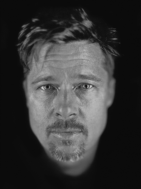 Chuck Close, 'Untitled (Brad)', 2009, Print, Archival pigment print, Adamson Gallery